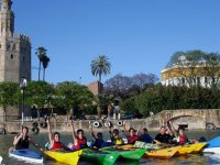 Knowing Seville by kayak