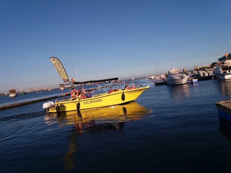 克里斯蒂娜岛乘船游览-Canla岛