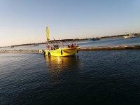从蓬塔德尔道德(Punta del Moral)乘船前往葡萄牙