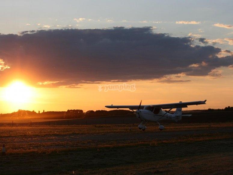 Marugán机场从空中