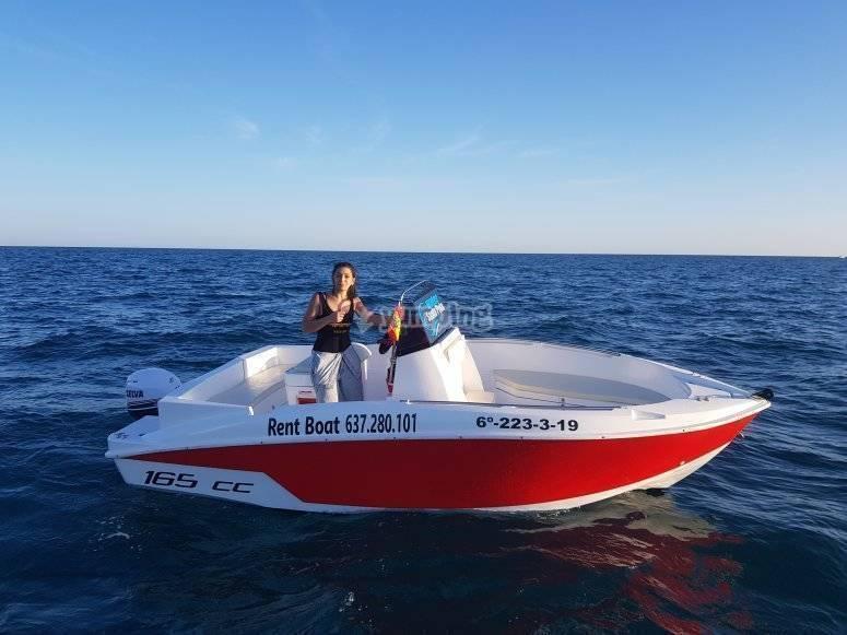 Navega en tu barco sin licencia