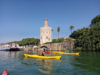 Ruta en kayak por el Guadalquivir 2 horas