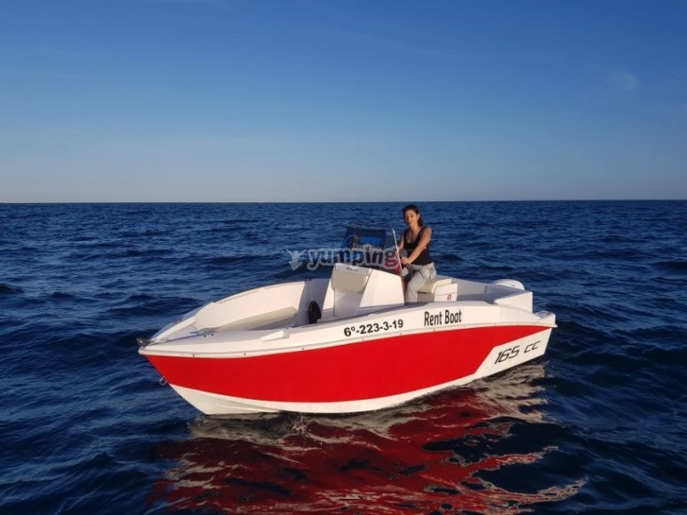 Navegando en Torrevieja