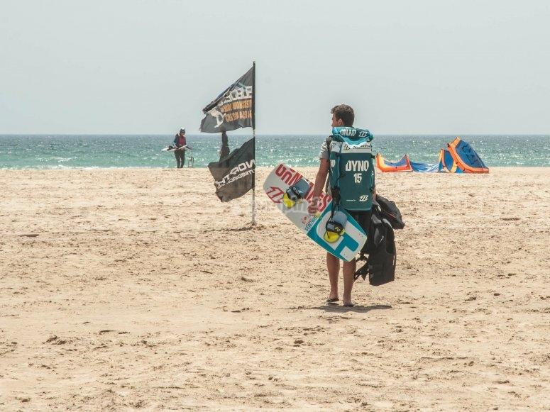 风筝冲浪课程,包括所有材料