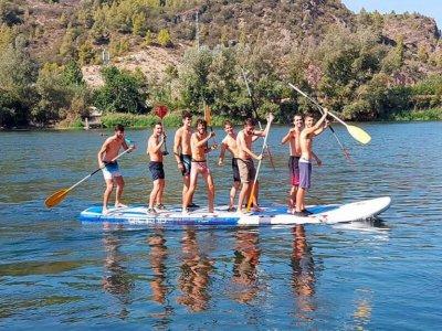 Ruta paddle surf big Benifallet 45min