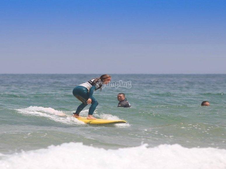 Surf en Playa de Somo