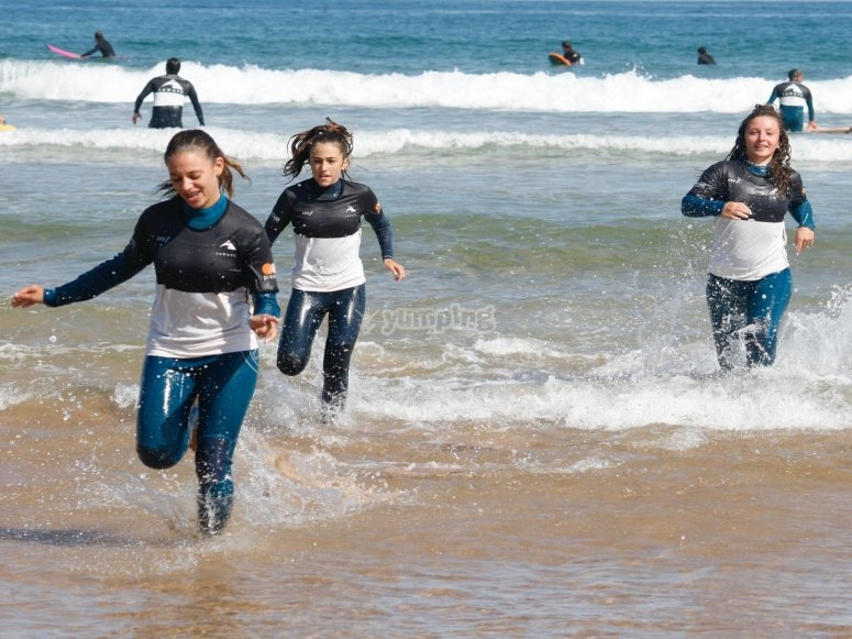 Surf class for all ages