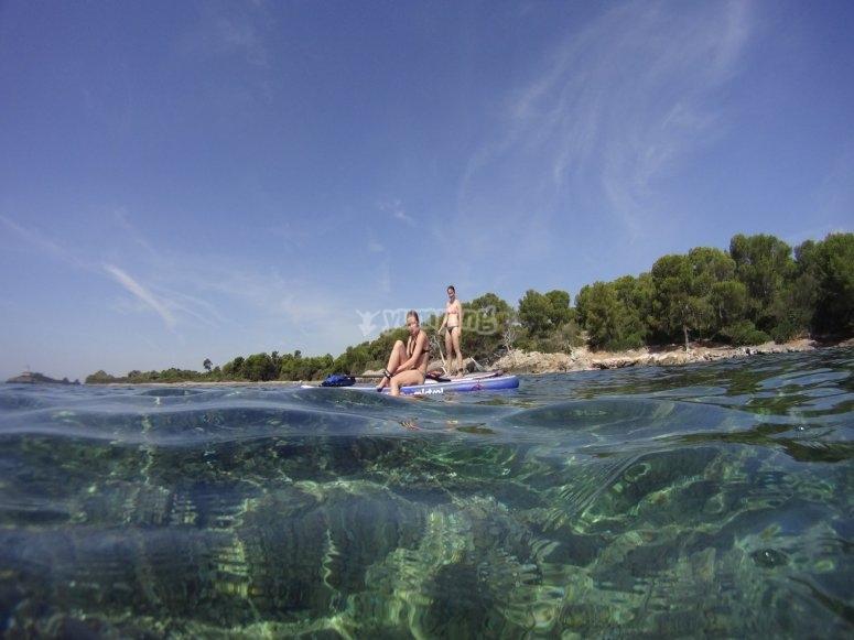 Esplora acque cristalline di Maiorca