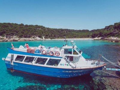 Tour barco Cala´n Bosch a Cala Escorxada 3h30min