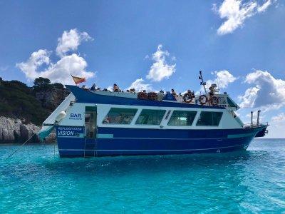 Tour en barco por Cala Galdana 2 horas