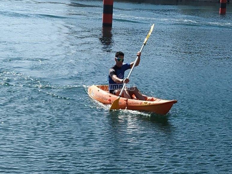 Rowing non-stop