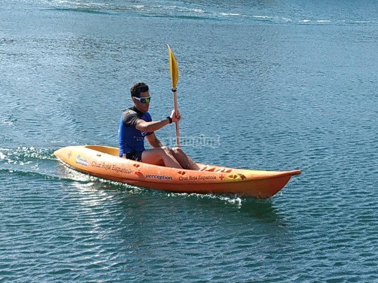 Rent your individual kayak
