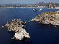 Volar en avioneta por Islas Medas