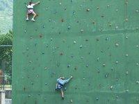 escalada en rocodromo