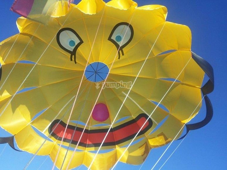 Volare in paracadute ascensionale