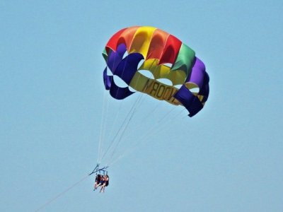 通过贝尼多姆跳伞15分钟