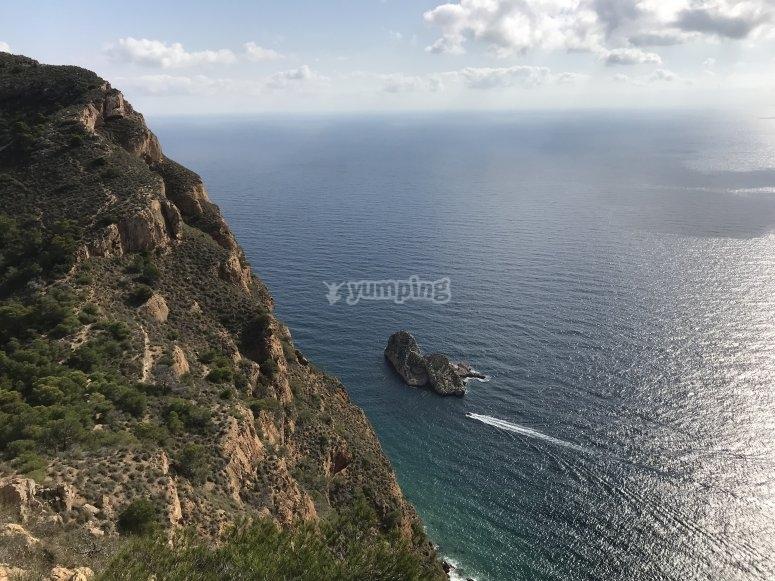 Navegando hacia Serra Gelada