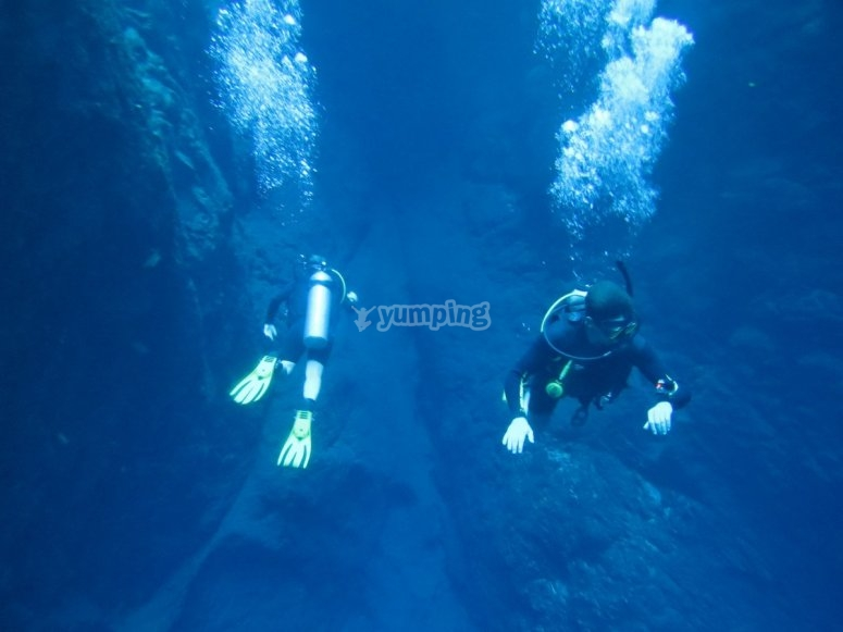 Primera inmersión por Benidorm