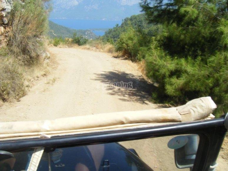 Vistas de nuestra ruta