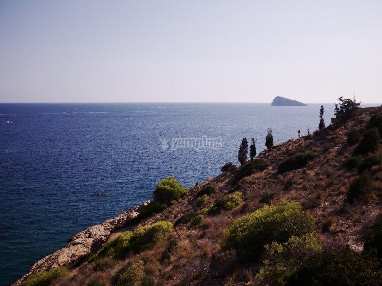 贝尼多姆岛的风景