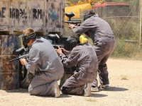 Paintball con barbacoa y barra libre en Benidorm