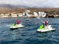 Tour el moto de agua hacia El Puertito 1 horas