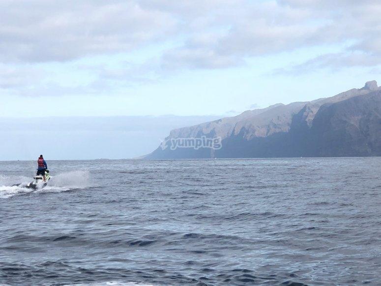 Tour di jet ski Tenerife