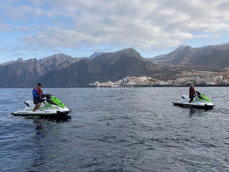 Giro di jet ski per due