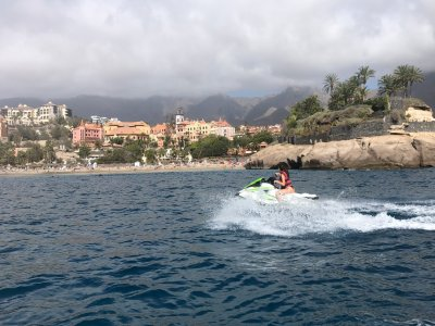Tour extremo en moto de agua Montaña Amarilla 2'5h