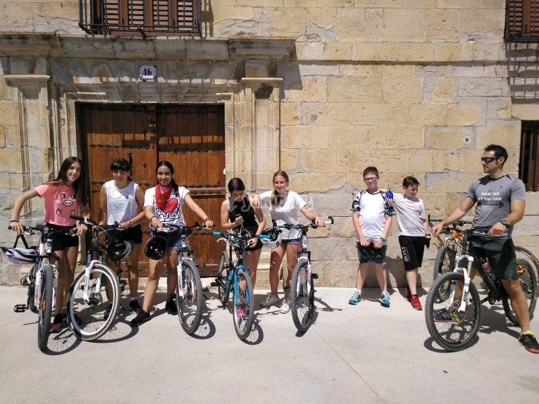 Excursiones con bicicleta