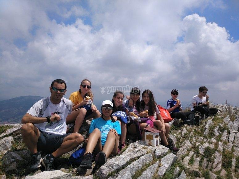 Actividades en la montaña