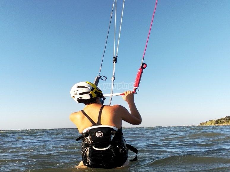 塔里法海滩风筝冲浪