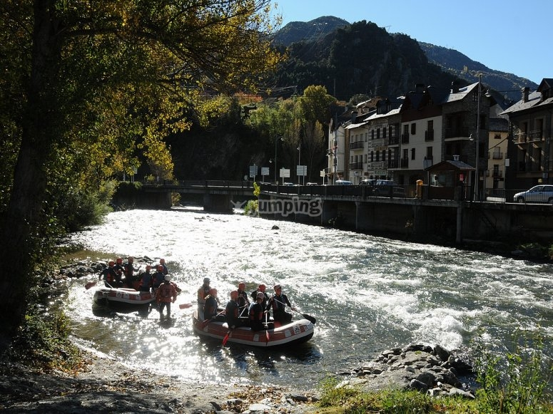 Rafting in Llavorsí