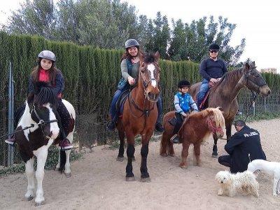 Ruta a caballo Villamarchante 30 minutos