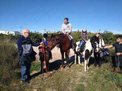Ruta a caballo Villamarchante 1 hora