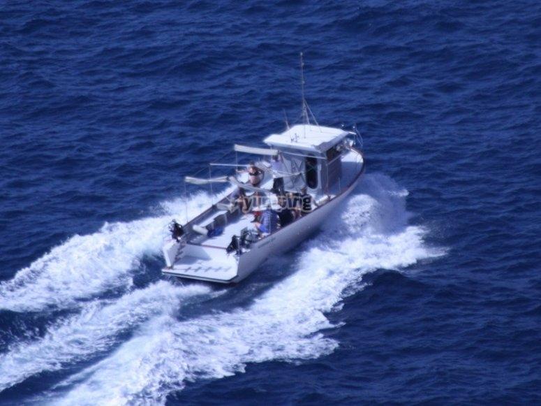 Surcando las aguas del Mediterráneo