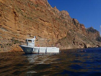 Alquiler barco y actividades acuáticas Albir 3h