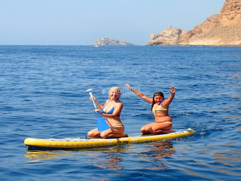 桨板冲浪贝尼多姆