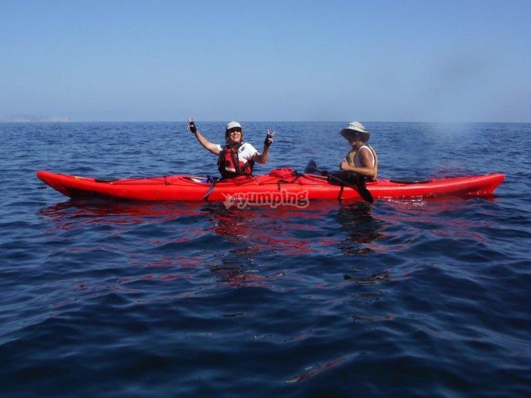 Navegando en pareja