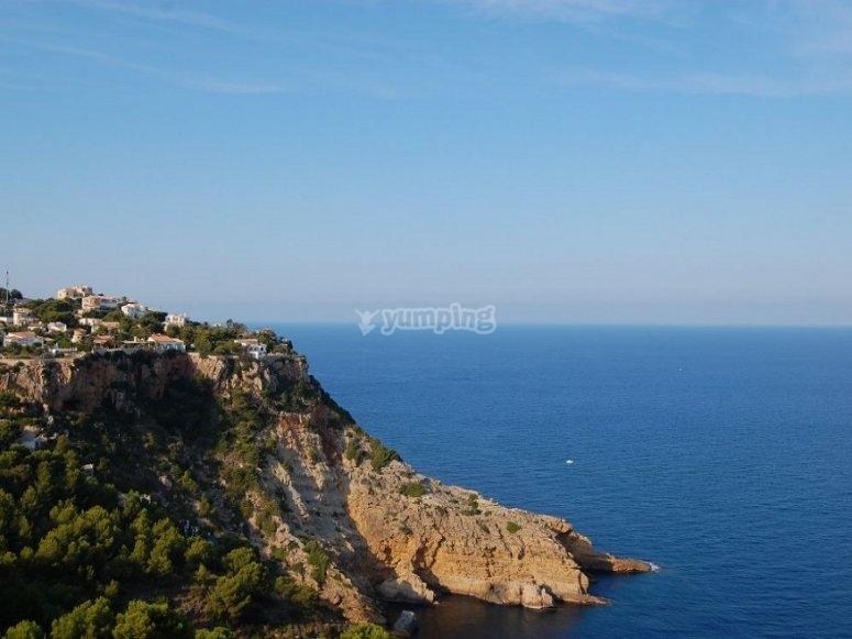 Views of the Valencian coast