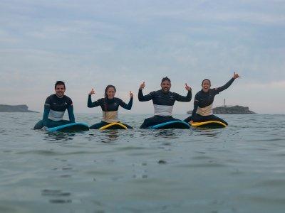 Curso de surf en Somo con alojamiento 2 días