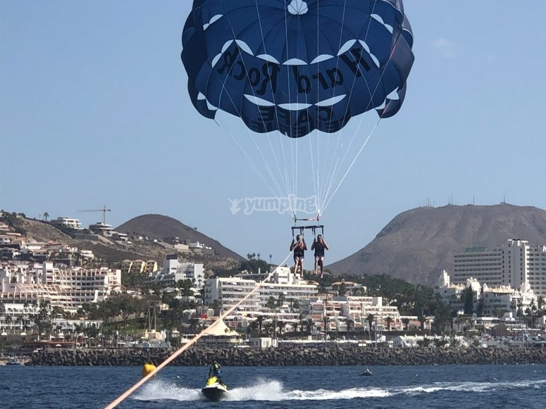 Parasailing flight in Adeje