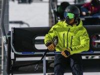 Listos para una clase de esquí