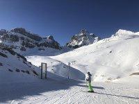 Clase de esquí