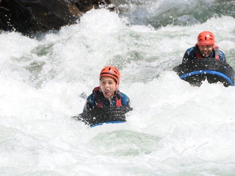 Hydrospeed on river