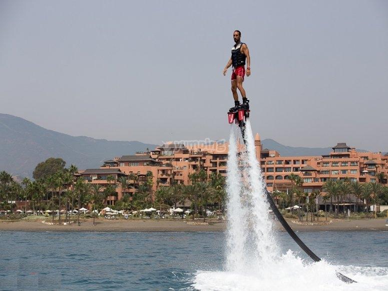 Flyboard en la Costa del Sol