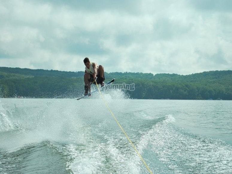 Acrobacias de wakeboard