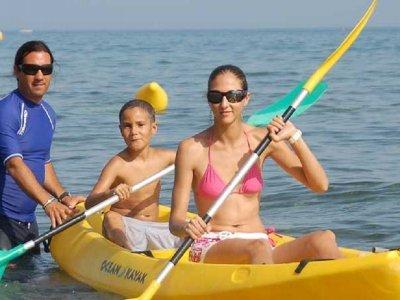 Alquiler de kayak en Playa El Padrón 1 hora