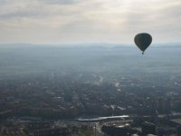Flying in Osona