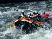 Overcoming the whitewater